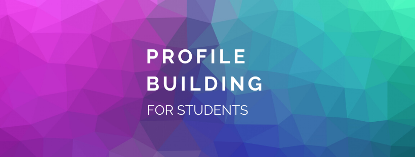 profile building helps students